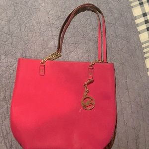 Michael Kors shoulder bag-bought at Nordstrom, so real. Beautiful inside and out